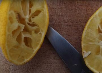 Elle récupère des graines de citron frais…ce qu'elle en fait est magnifique!