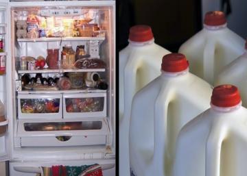 Pourquoi vous ne devriez jamais, jamais stocker votre lait dans la porte du réfrigérateur