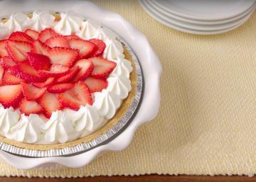 Cette tarte «limonade à la fraise» sans cuisson est le coup de cœur de la rédaction!