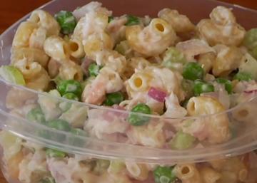 Coup de coeur pour une salade de pâtes au thon, aussi santé que savoureuse!
