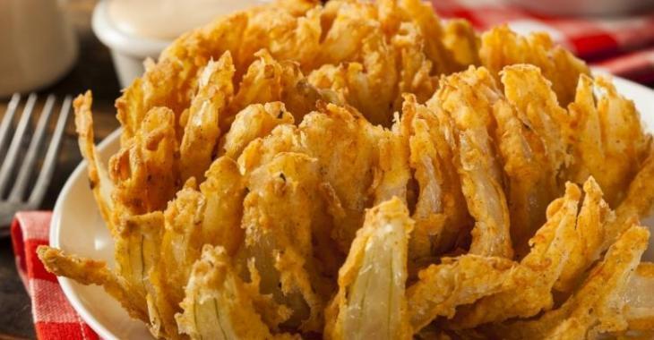 La fleur d'oignon frit