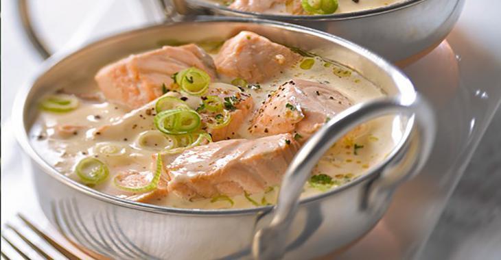 Une blanquette de saumon EXPRESS... Un classique prêt en quelques minutes!