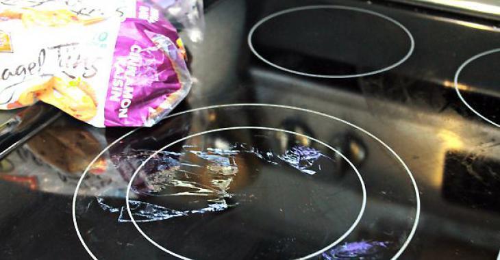 Comment retirer le plastique brûlé sur la vitrocéramique