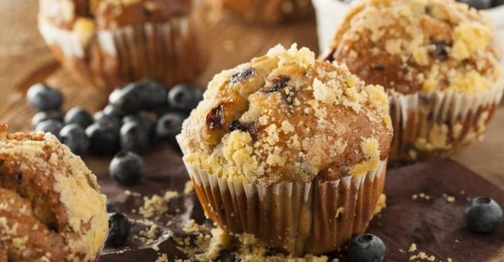 Sirop d'érable et bleuets...Un muffin gagnant