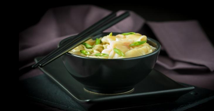 Soupe Won ton aux crevettes... 100% maison! Un succès garanti, presque top SIMPLE à faire