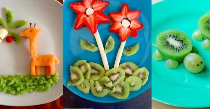 19 assiettes magnifiques à créer avec des fruits et des légumes