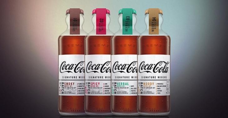 NOUVEAUTÉ dans le monde de la mixologie: Coke lance des sodas haut-de-gamme!
