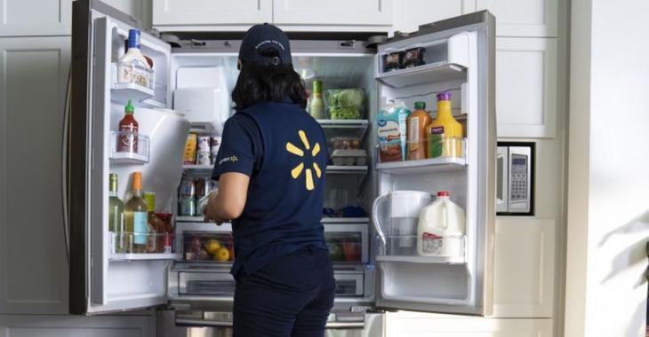 Sous peu, Walmart pourrait déposer votre épicerie directement dans le frigo de certains clients